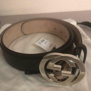 Accessories - Authentic Interlocking G Belt